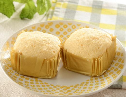 プロテイン入りチーズ蒸しケーキ